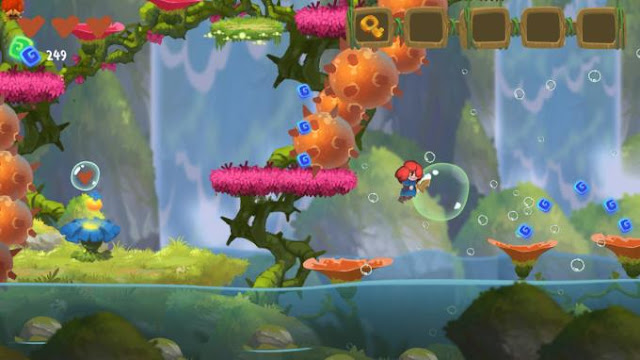Potata Chapter One is a pleasant and kindly interesting adventure platform game with a side view in which you have to go on a journey through a fairy-tale, bright and unpredictable world.