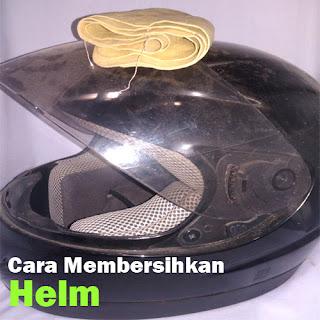 Tips Membersihkan Helm Sendiri dengan Mudah