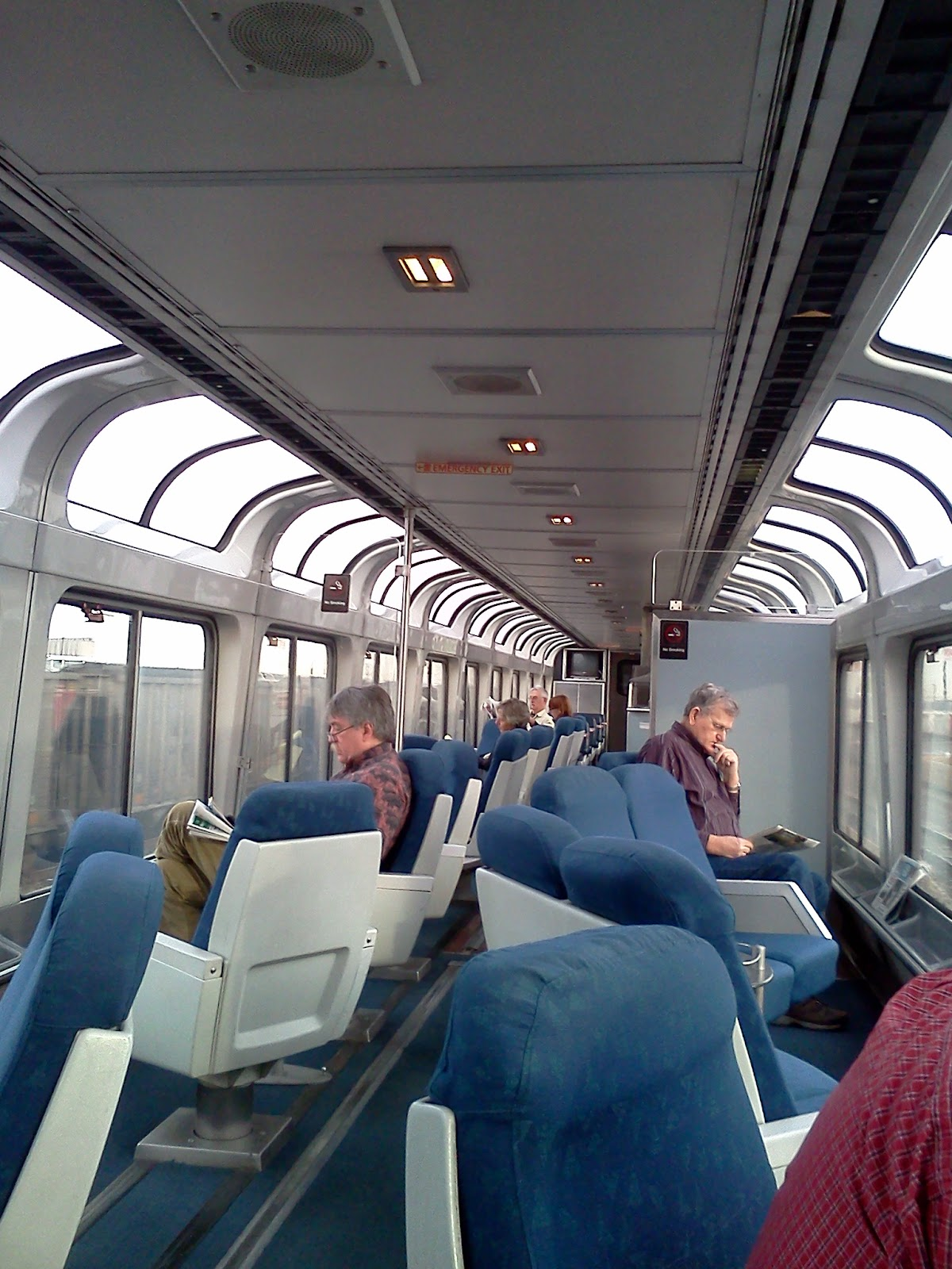 Sightseer Lounge Car