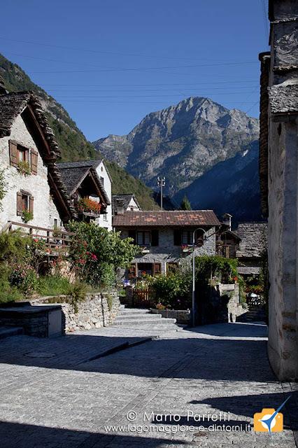 Sonogno in valle Verzasca