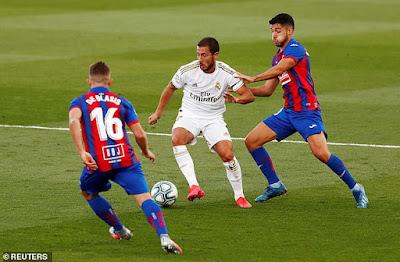 Zidane giật mình lo sợ vì Eden Hazard