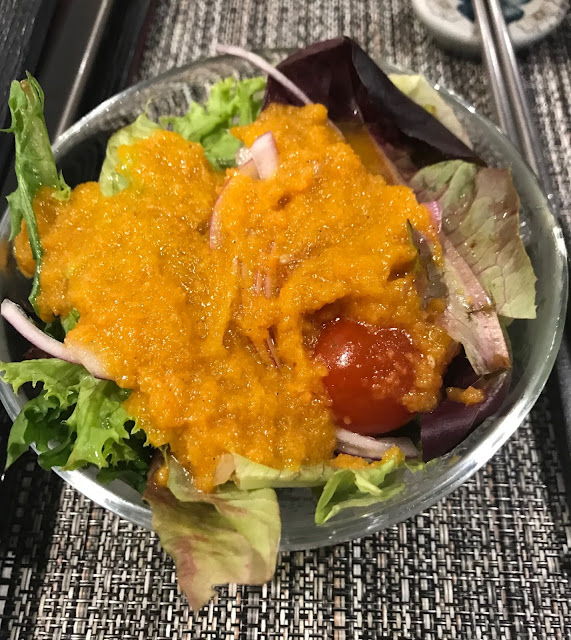 Yokohama Teppanyaki, Glen Waverley, salad