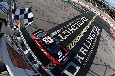 Keselowski started ninth in the NASCAR Xfinity Series Sport Clips Haircuts 200 on Saturday afternoon and worked his way through the field to take the checkered flag.