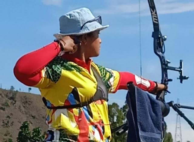 Srikandi Papua Tantang Jawara Olimpiade Tokyo di Final Panahan PON XX.lelemuku.com.jpg