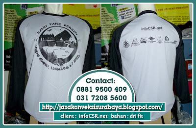 Tempat Bikin Kaos Raglan Produksi di Surabaya, Konveksi Bikin Kaos Raglan Produksi di Surabaya