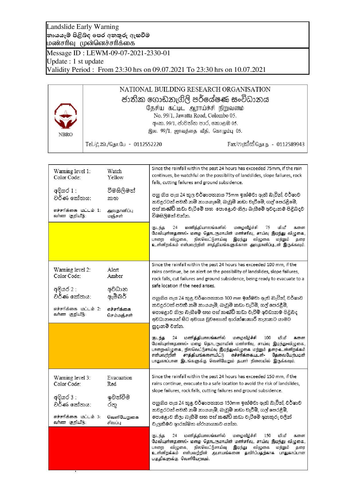 weather warning notice