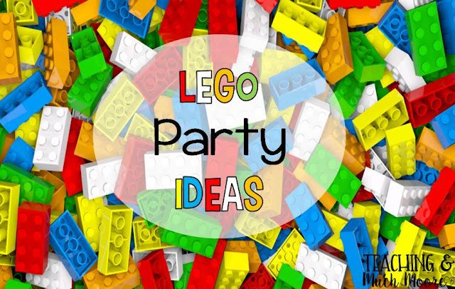 lego party ideas, lots of fun ideas and easy to make projects