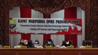 Pj Gubernur Berikan Jawaban Mengenai Pandangan Fraksi Terhadap LKPJ Tahun 2020