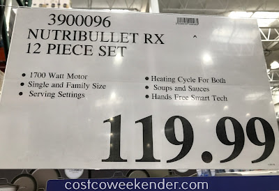 Deal for the NutriBullet Rx 12-piece set at Costco