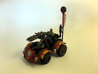 2nd Edition Ork War Buggy - Left