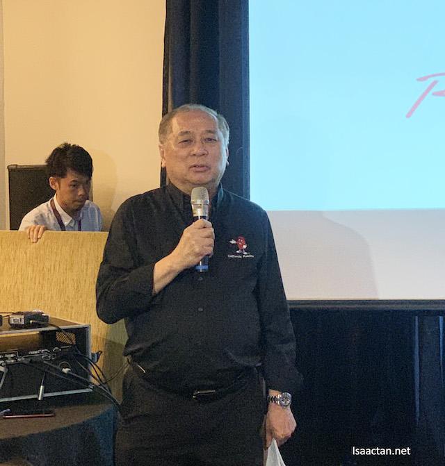 RAC's Trade Promotions Director for Malaysia, Mr Richard Lieu
