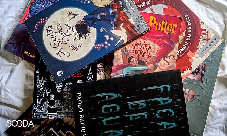 capa de livros citados na postagem