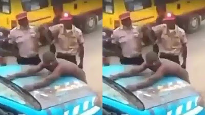 FRSC) has charged the tricycle rider who fought some of its operatives to court. The agency also demoted its officials involved in the public brawl.