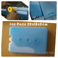 blue ice ukuran besar