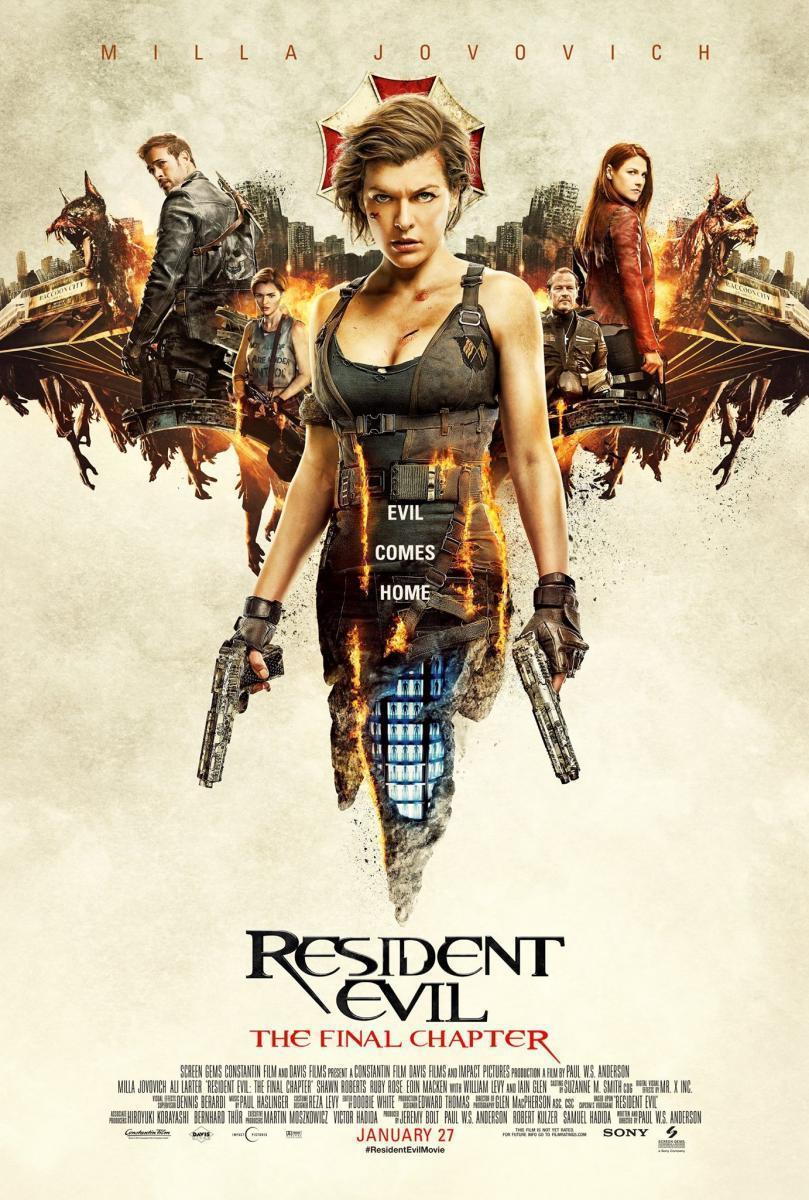 ver Resident Evil: El Capítulo Final 2017