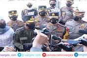 Polda Sulsel Menggelar Apel Pasukan Kesiapan Pengamanan Hari Raya Idul Fitri dan Larangan Mudik Tahun 2021