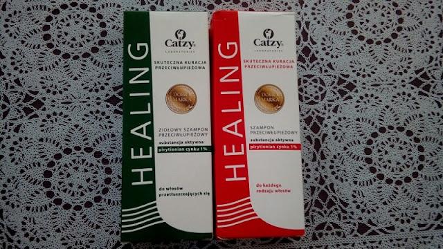 szampon przeciwłupieżowy Catzy healing