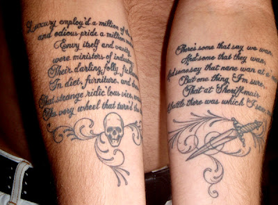 Writing a essay on tattoos resume disigns