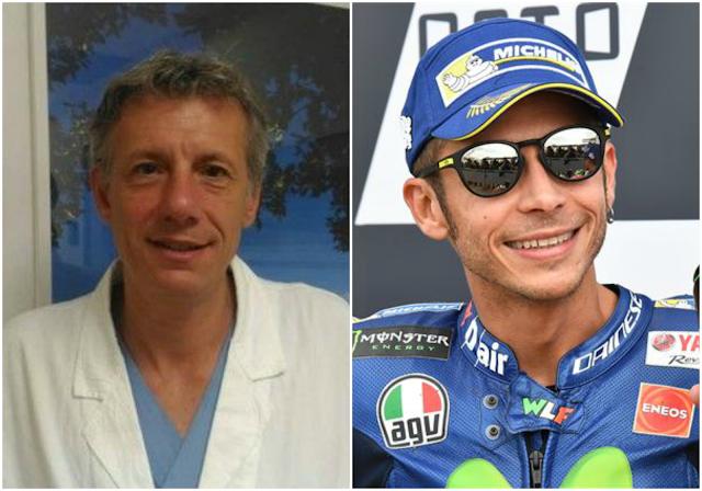 Raffaele Pascarella and Valentino Rossi
