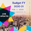 Budget | FY 2020-21 | LIVE UPDATES