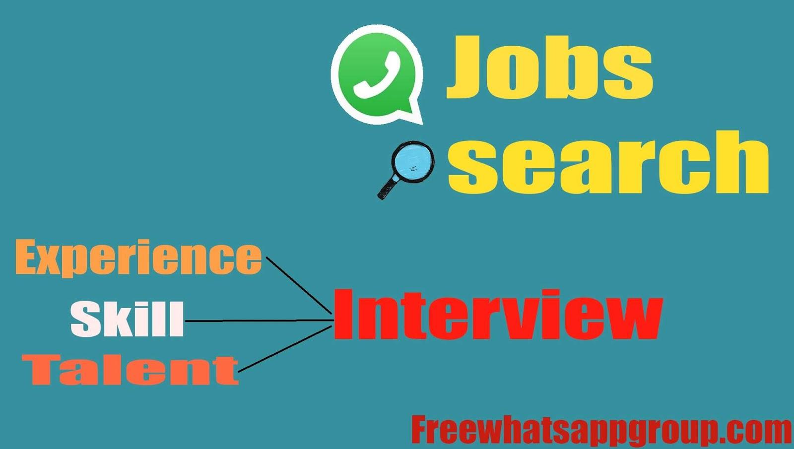 Job vacancy Whatsapp group link, pune job whatsapp group link