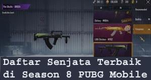 Daftar Senjata Terbaik di Season 8 PUBG Mobile 1