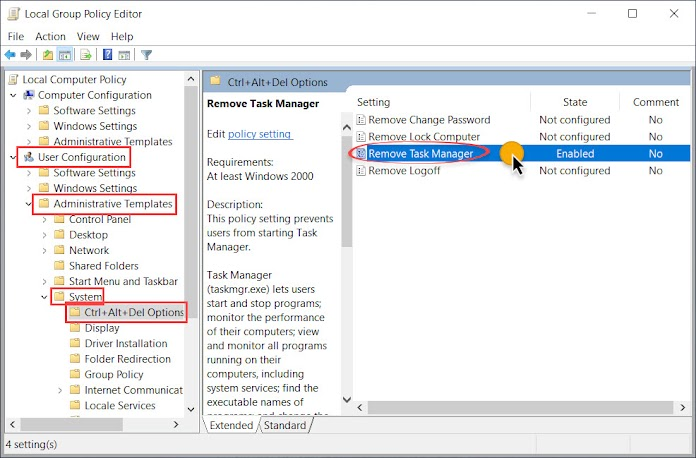 Fix Task Manager has been disabled by your administrator