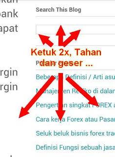 zoom halaman situs
