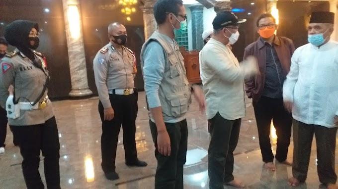 Walikota dan Wawali Inspeksi Pos Pemantauan Lebaran