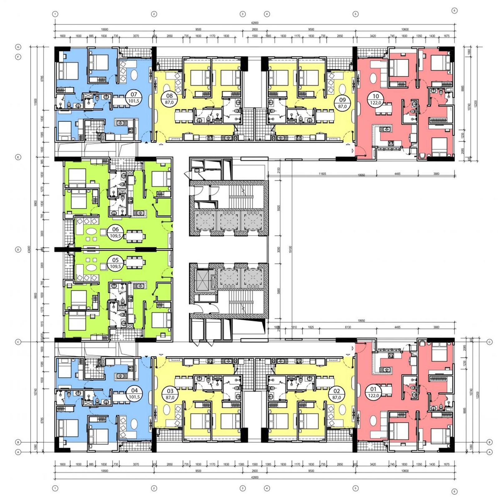 Thiết kế căn hộ chung cư Phú Mỹ Complex Ngoại Giao Đoàn
