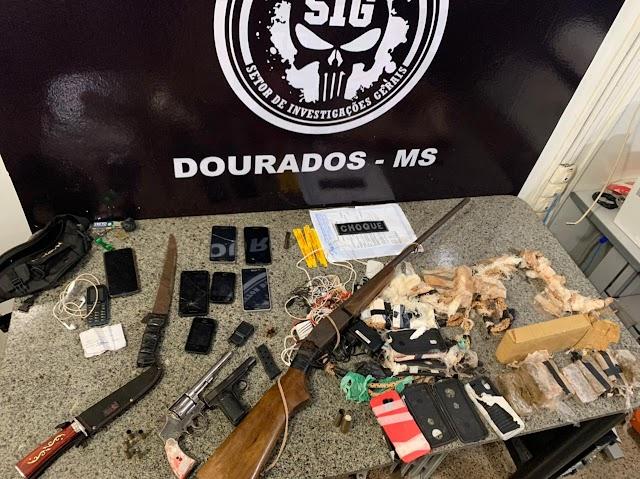 Ação conjunta apreende drogas e armas em Dourados; Dois criminosos foram mortos