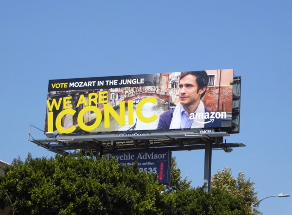 Mozart in Jungle Iconic season 3 Emmy billboard
