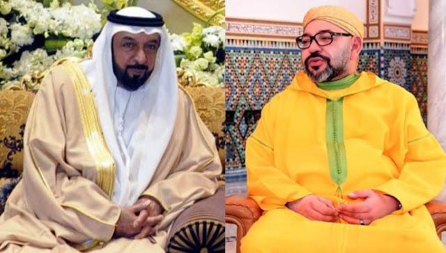 agadirpress  عيد الاستقلال: الملك يتلقى التهاني من القيادات الإماراتية  جريدة أكادير بريس