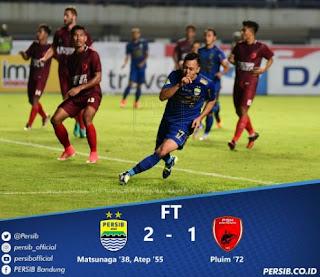 Persib Bandung vs PSM Makassar 2-1