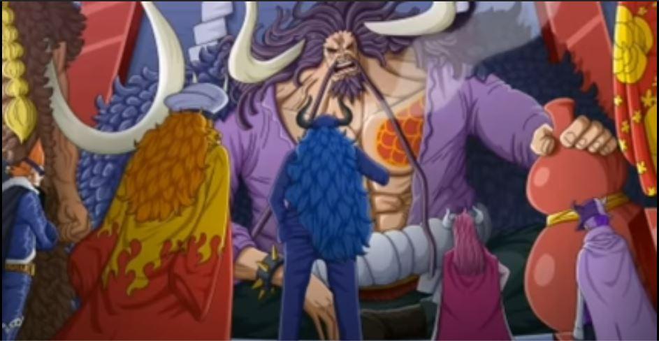 Benarkah Yamato Putra Kaido Itu Perempuan, Pesannya  ke  Luffy?