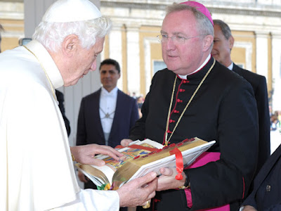 Arthur Roche and Pope Benedict