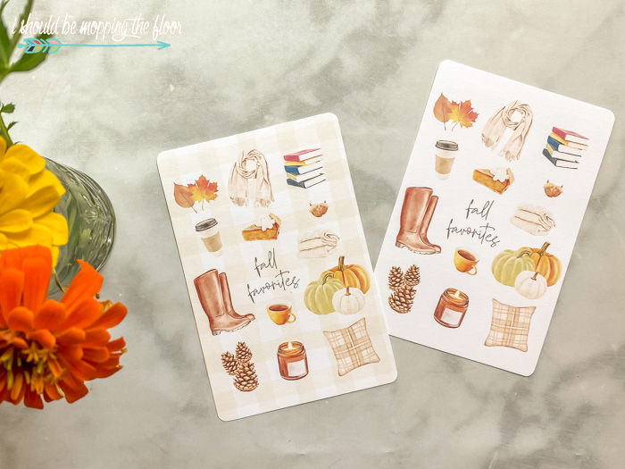 Fall Favorites Printables