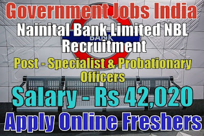 Nainital Bank Ltd Recruitment 2019