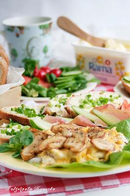 kolorowe kanapki, śniadanie, wiosenne kanapki, daylicooking