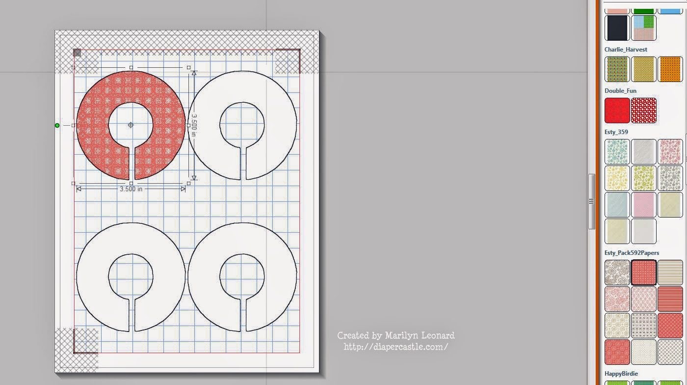 clothes divider template - marilyn 39 s crafts diy closet dividers