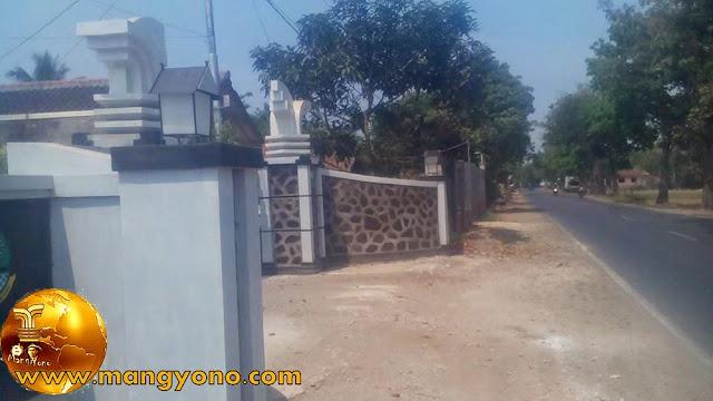 Desa Mulyasari ditunjang dengan jalan yang bagus. Poto ini hasil jepretan Kang Ian Susanto - Facebooker Subang ( FBS )