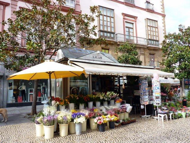 Puestos de plaza de las Flores