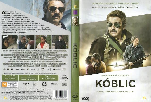 Capa DVD Kóblic