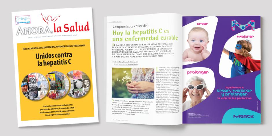 """Revista """"Ahora, la Salud"""" de la Fundación ABC"""