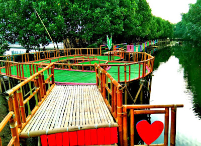 destinasi ekowisata mangrove Sunge Jingkem Sembilangan Bekasi