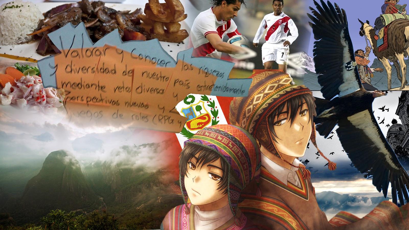 Blog De Creatividad: Collage 100% PERUANO!