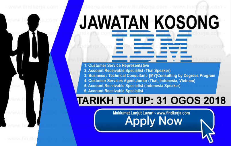 Jawatan Kerja Kosong IBM Malaysia Sdn Bhd logo www.ohjob.info www.findkerja.com ogos 2018