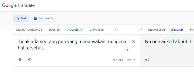 Ngga Ada Yang Nanya Google Translate