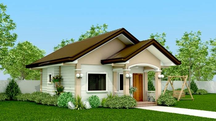 25 photos of beautiful and cute tiny small bungalow house for Cute house design