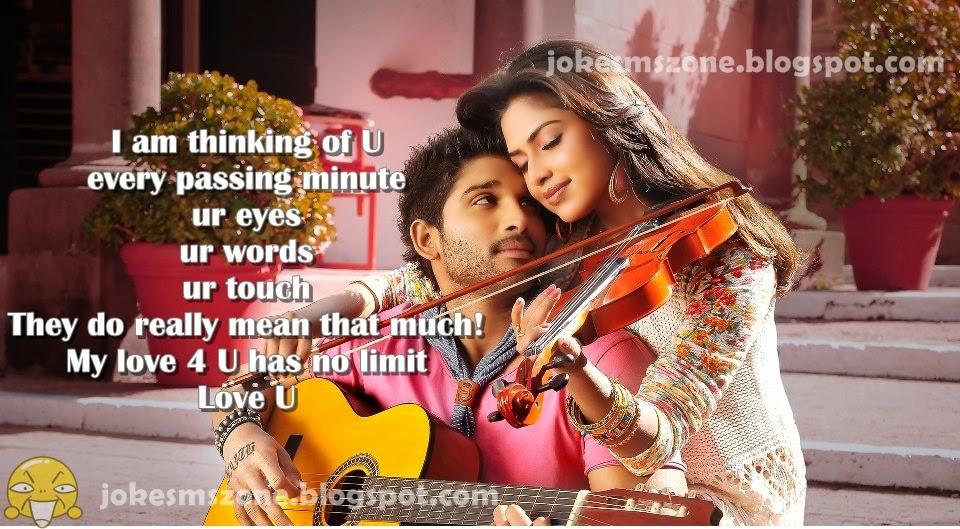I Am Thinking Of U English Love Quotes Sinhala Sms Zone